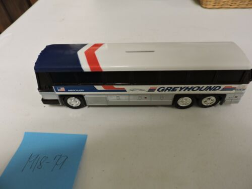 "Vintage 10"" long Jimson Greyhound Bus Americruiser Plastic Bank No. 200"