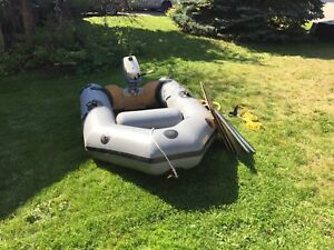 Hard Transom Inflatable Boat