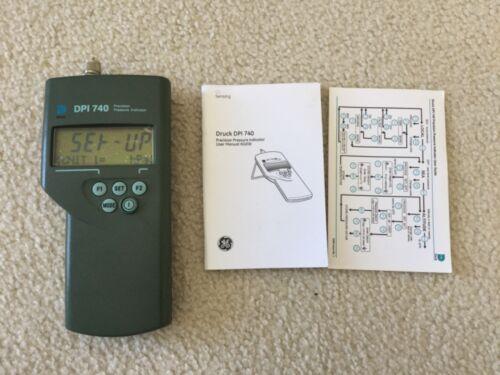 New GE Druck DPI 740 Portable Precision Barometer