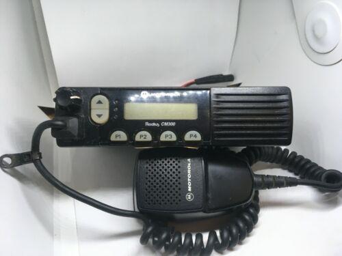 Motorola CM300 VHF 32ch 40w Mobile Radio with microphone