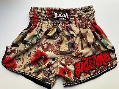 Japanese Print Muay Thai Shorts Made in Thailand Raja Boxing Medium