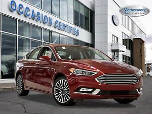 2017 Ford Fusion SE 2.0 EcoBoost AWD CUIR+TOIT+GPS+CAMÉRA