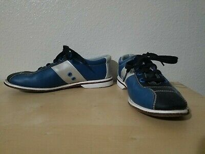 ntal Bowling Alley shoes Monarch size 8 39.5  (Blue Monarch)