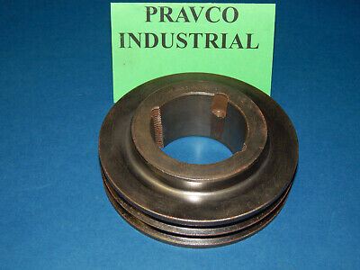 2-3v4.75 Pulley Sheave Double Groove 4-34 4.75 Outside Diameter