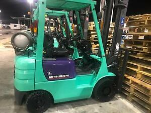1.5t Mitsubishi Forklift for sale Epping Whittlesea Area Preview