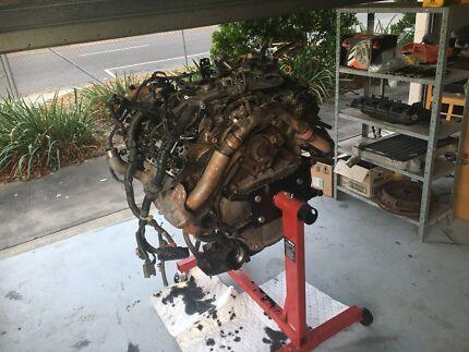 V8 Landcruiser Engine 1vdftv