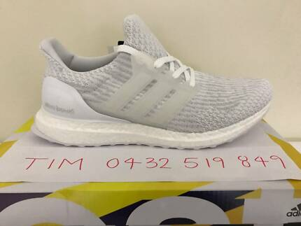Brand NEW Adidas Ultra Boost 3.0 Triple White US8.5 – US11