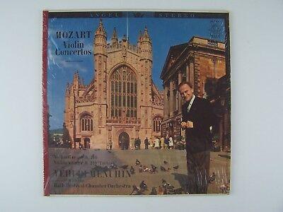 Mozart Violin Concertos No 3 In G Major, No 5 In A Major Vinyl LP Record