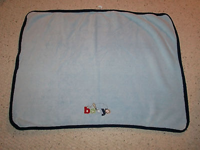 JUST ONE YOU BLUE BABY BOY BLANKET BEST BASEBALL BAT GLOVE