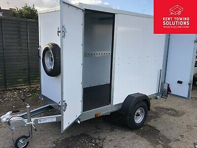 Tickners ECO745 7ft X 4ft X 5ft Box Car Van Camping Trailer & Side Access Door!