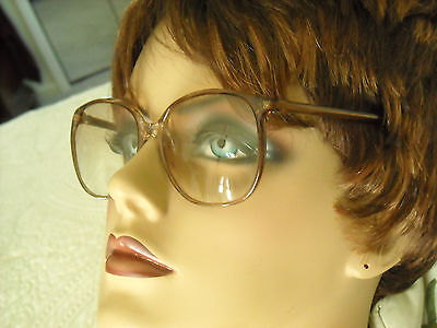 Vintage Lenscrafters  Kimberly Rose Fade  Pink Champagne Plastic Frames  Only
