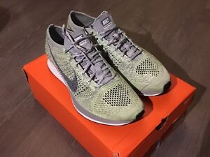 Brand new Macaron pack Nike Flyknit racer size 10.5 and size 11