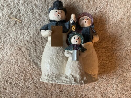 Snowsnickle 2001 Three Caroling Snow Family 861820