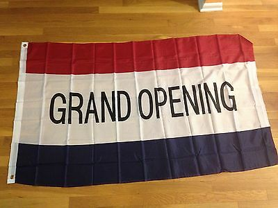 lags Banner Red White Blue  Retail Business Restaurant Sign (Grand Opening Banner)