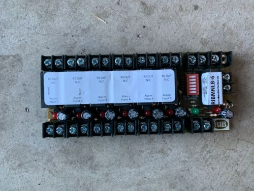 Functional Devices RIBMNLB-6 Fan Safety Relay