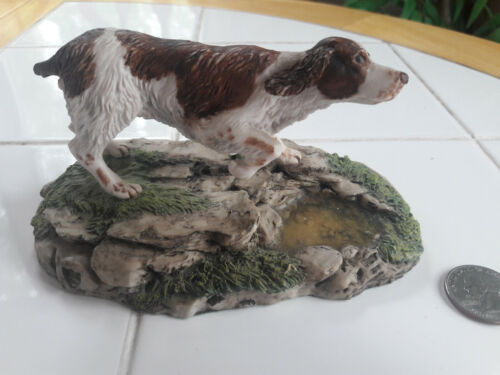Springer Spaniel Dog - Ceramic Handcrafted and Made in England