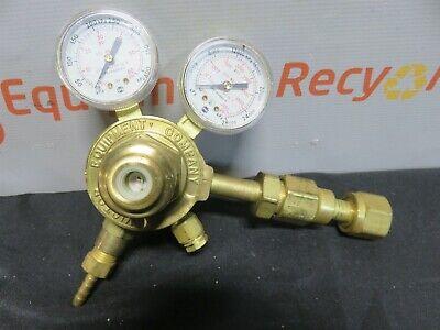Victor Compressed Gas Regulator Vts 250b Oxygen Dual Gauge
