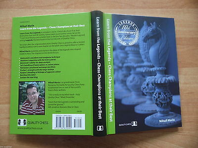 NEW GM Marin: Learn from the Legends 10th Anniversary Edition Quality Chess 2015