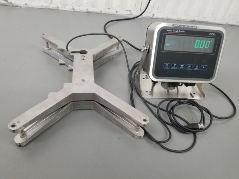 Avery weigh-Tronix ZM301-SD1 Floor  scale