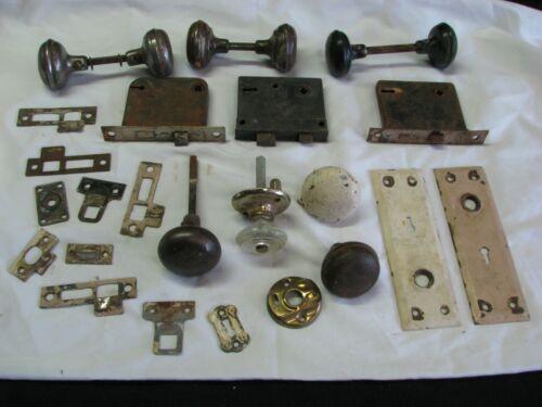 Antique Door Knobs, Latches, Lock Plates & More