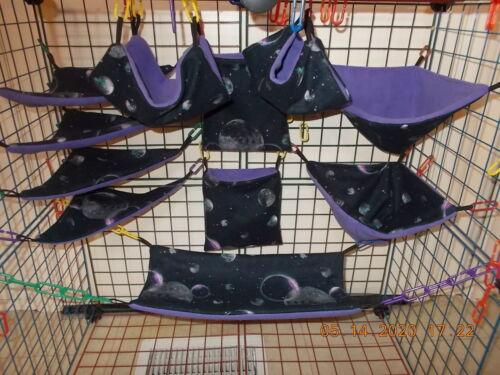 CELESTIAL  MOON   Sugar Glider 11 pc cage set