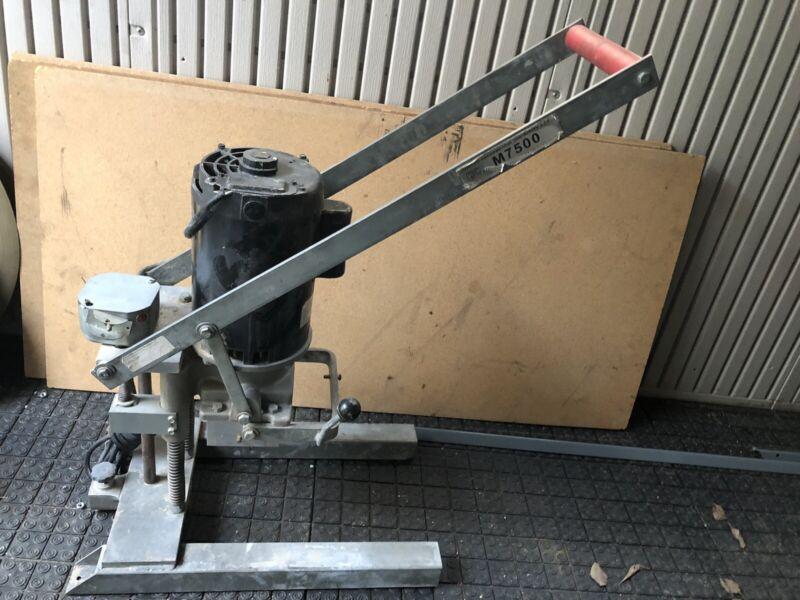 Tools Carpinter Marcon international Machinery M7500 Door Boring Machine