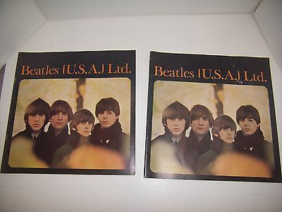 1965~THE BEATLES (USA) Souvenir Books~SET OF 2, RARE- One to Keep, One to Give!