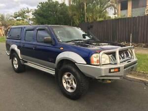 2004 Nissan Navara str/ 4x4/ dual cab/ Turbo Diesel/ lovely ute Biggera Waters Gold Coast City Preview