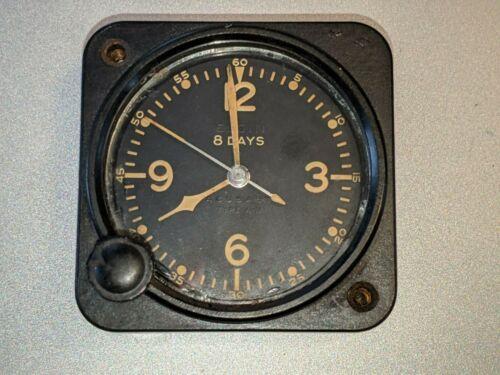 Elgin National Watch P51 Mustang Aircraft Clock 8 Jewel 1776 US ARMY Type A-11