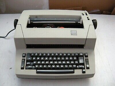 Refurb Ibm Selectric Personal Typewriter Wself Correction Key-truly A Collector
