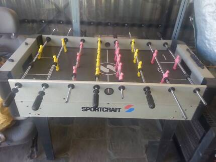 Foosball Table Northfield Port Adelaide Area Preview
