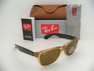 New Authentic Ray-Ban RB2132 945/57 55mm Honey Frame Brown Polarized (Honey Lenses)