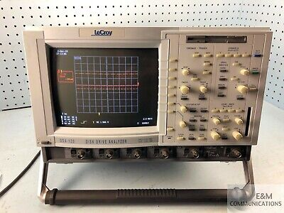Dda-120 Lecroy Swiss-made Disk Drive Analyzer Digital Oscilloscope A