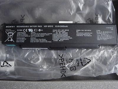 ORIGINAL Battery SONY VAIO VGP-BPS10 VGPBPS10 VGN-SZ5 SZ6 SZ76 SZ77 SZ78 NEW