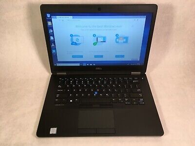 "Dell Latitude E7470 14"" Laptop Intel i7 2.6GHz 4GB 360GB SSD Windows 10 -RR"