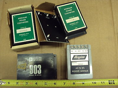 Dc Power Supply Bricks 5 Vdc 120vac Input Lot Of 4 Each Assorted Used