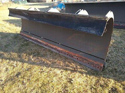 Heavy Duty Frink Snow Plow 12 Hydraulic Power Angle Dump Truck Skid Steer