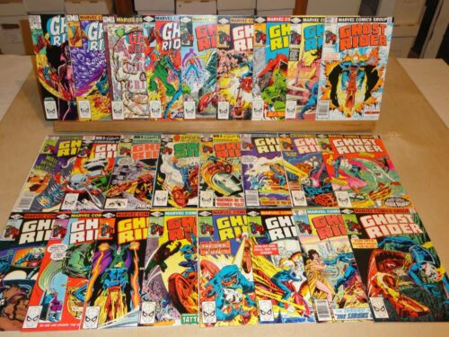 Ghost Rider 51-75 (1973 series) FN+ 6.5 Average - 25 Total Issues Marvel