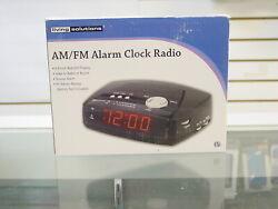 Living Solutions Am/fm Alarm Clock Radio 531095
