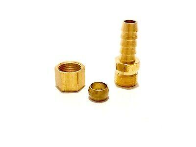Transmission Cooler Line Brass Fitting 5/16