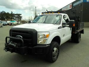 2011 Ford F-350 SD 9 Foot Flat Deck dually diesel 4WD
