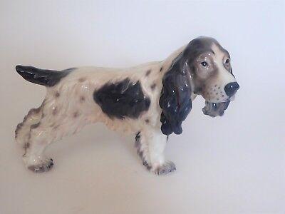 Dahl Jensen Porzellan Figur Hund Cockerspaniel Nr. 1145