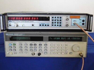Eip 578 Source Locking Microwave Counter Working Good