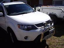 2008 Mitsubishi Outlander Wagon Campbelltown Campbelltown Area Preview