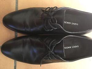 Black man's leather shoes Warrawee Ku-ring-gai Area Preview