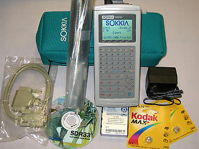 Sokkia Sdr33 2mb Datacollector Perfect Condition Sdr 33