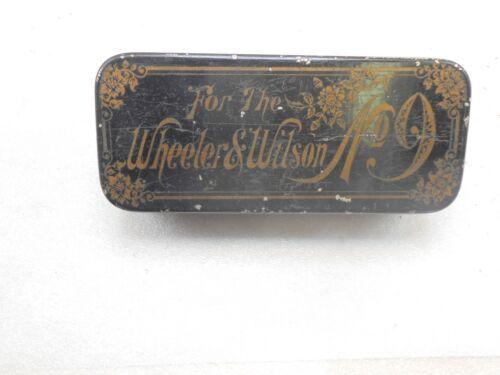 Wheeler &  Wilson sewing box for No. 9 machine