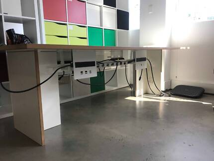 4 x Computer/Office desks AVAILABLE Early Jan 2018