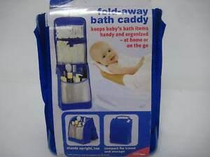 First Years Fold Away Bath Caddy Travel Bath pack baby RRP $19 Concord West Canada Bay Area Preview