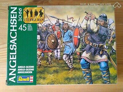 Niños Soldados de Plástico Revell 1/72è Anglosajón De Grupo